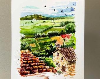 Travel Journal - Pals, Spain