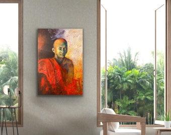 Cambodia monk