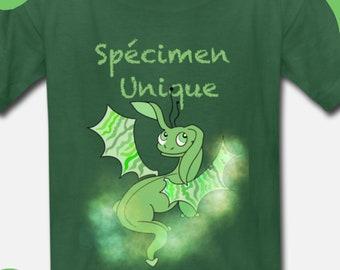 "Child T-Shirt ""I will flee on my dragon"""