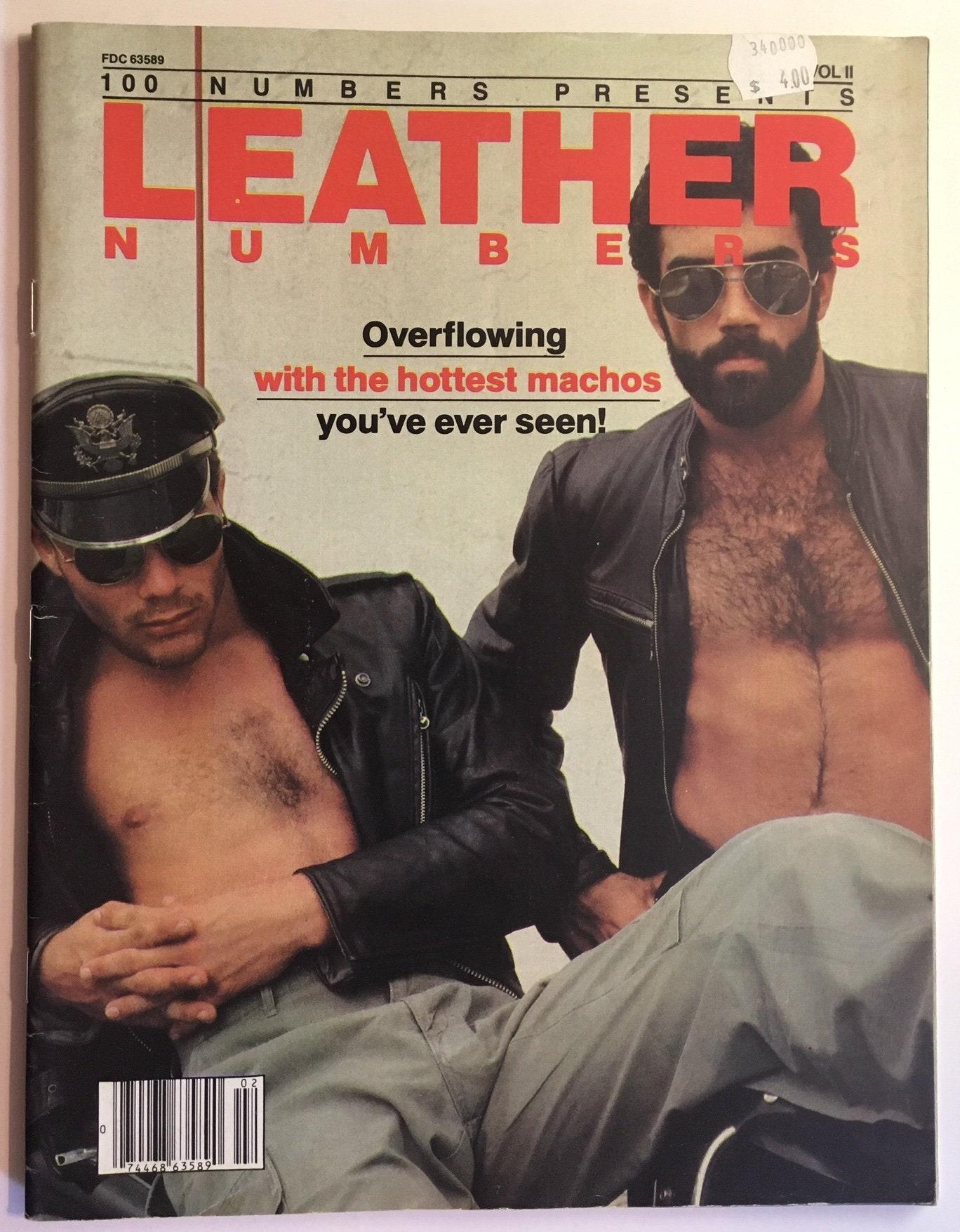 Vintage Gay Magazin. Ledernummern Vol 1 No 2 Sommer 1980