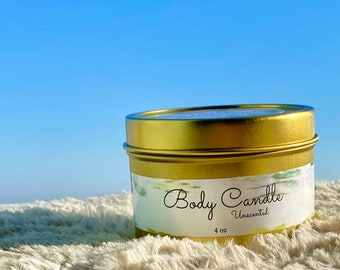 Body Candle 4oz- unscented