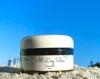 All Day Shea 4oz- unscented