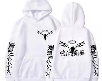 Team Valhalla Walhalla Pull Capuche Hoodie Tokyo Revengers Draken Mikey Mickey Anime Manjiro Ken Takemichi Sweat Shirt Clothes Design