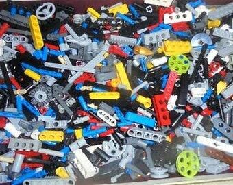 1 Pound TECH Legos (TM) Brand Variety Sack - 100% Authentic and Sterilized.  Stuffed Randomly. Sold by Lego Sacks