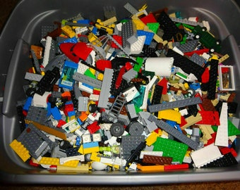 10 pounds MIXED Legos (TM) Brand Variety Sack - 100% Authentic and Sterilized.  Stuffed Randomly. Sold by Lego Sacks