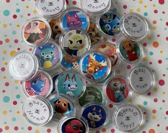 Handmade Animal Crossing New Horizons Amiibo Coins