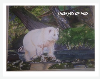 Cope and Encouragement-Recycled Greeting Card with Original Artwork and Text