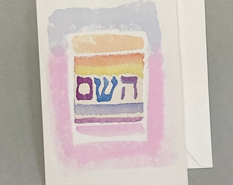 Greeting cards, jewelry cards, watercolor, hand-painted