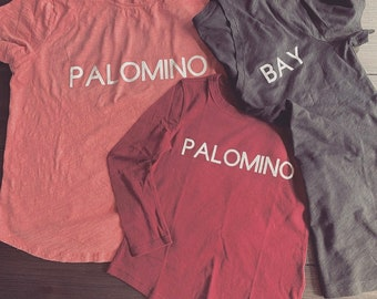 T-shirts for all horse lovers