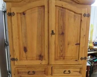 Mid Century Modern Dresser/ Armoire/ Closet