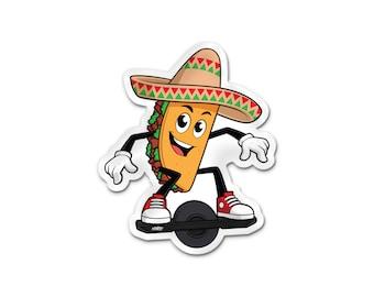 RlNtlSS Mr. Taco Sticker (LIMITED EDITION)