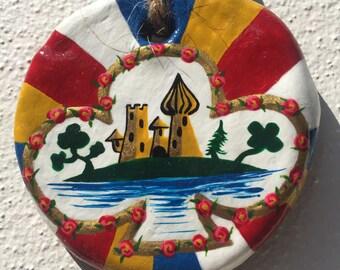 Clover Club Fiori Trefle Kreuz Castle Roundel Art