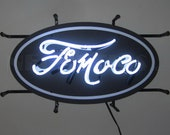 FoMoCo Junior Neon Sign with Backing