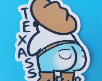 TexASS Sticker
