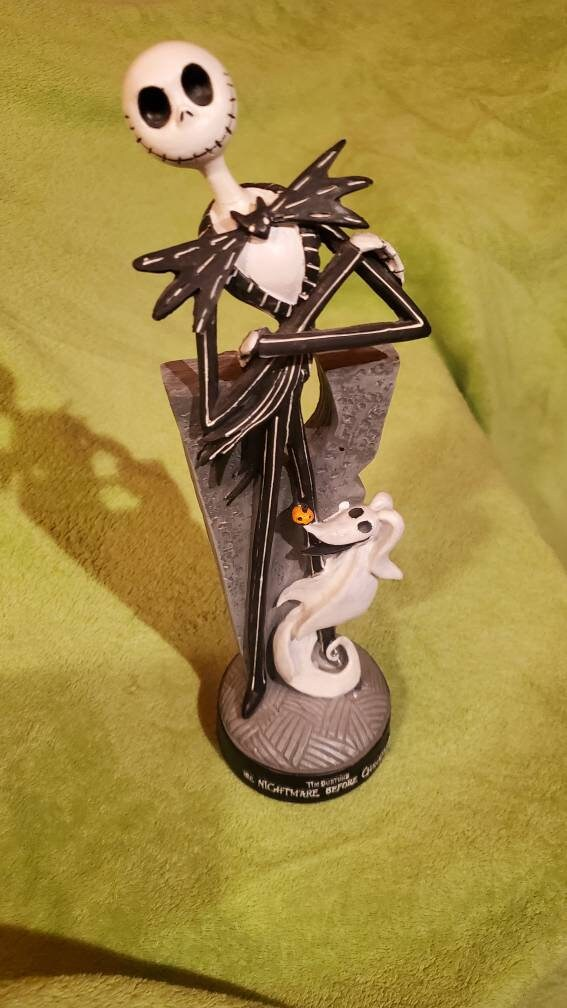 Rare Jack & Zero Figurine