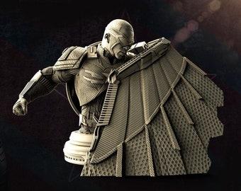 Falcon and Winter soldier - busta STL File 3D Print