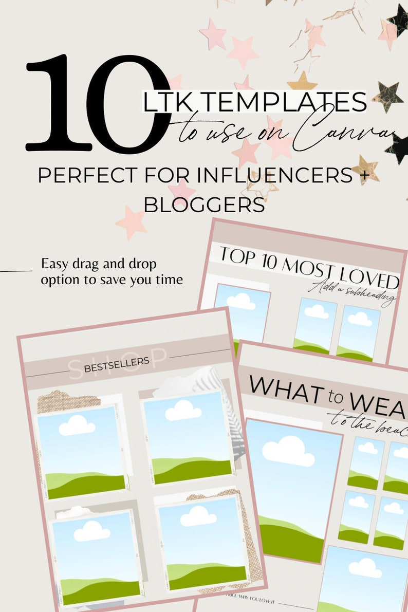 Customizable LiketoKnow.it/ShopStyle Templates for Bloggers  image 0