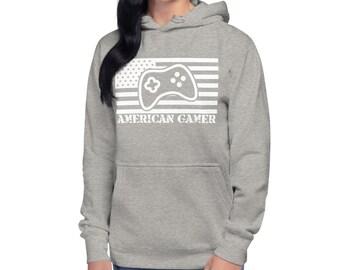 American Gamer™, Unisex Hoodie