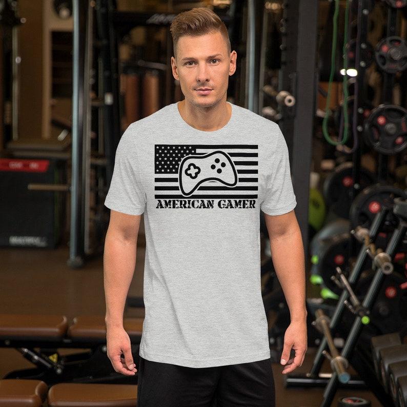 American Gamer™ Short-Sleeve Unisex T-Shirt image 0