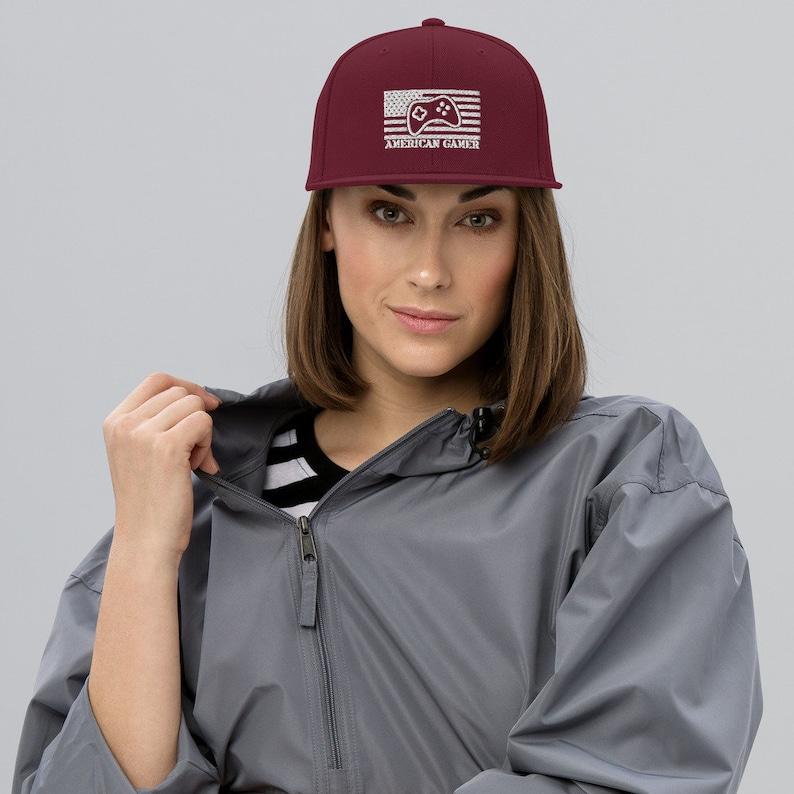 American Gamer™ Snapback Hat image 0