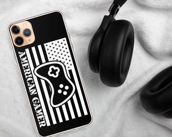 American Gamer™, Black iPhone Case