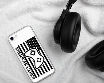 American Gamer™, White iPhone Case