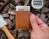 The No.1 (Whiskey), ultra slim wallet made from full grain leather