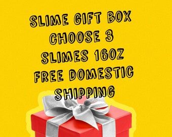 Slime Gift Box + Extras
