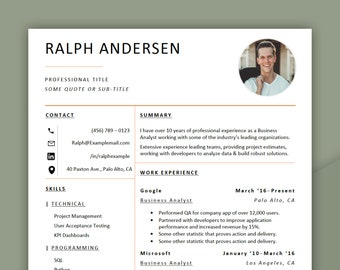 Professional Resume Template | 2 Page | MS Word Compatible | Easily Editable Resume | Instantly Downloadable | Clean Resume.