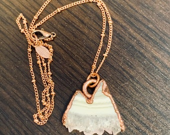 Amethyst Mountain Necklace