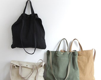 HappyLemonade Crossbody Canvas Cotton Bags-Canvas Tote Bag-Corduroy Shoulder Bags- Messenger Bag-Everyday Bag- Casual Bag-Gift For Her