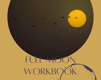 Full Moon Ritual Workbook: September 20 Full Moon in Pisces