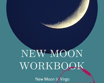 Virgo New Moon Ritual Workbook: September 7, 2021, Intension Setting, Witch, Manifestation