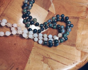 CUSTOM made to order Tantric Mala Necklace