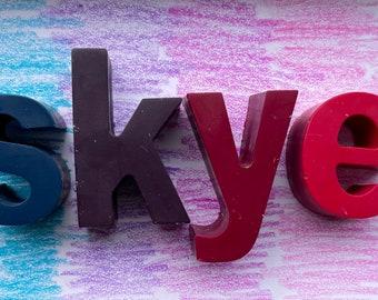 Personalised Name Crayons