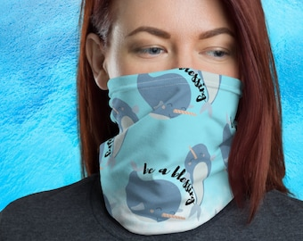 Narwhal Neck Gaiter | Be a Blessing Face Mask | Governerd Mask | Here To Be Unreasonable | Fact Revolution | Sharon Says So Neck Gaiter