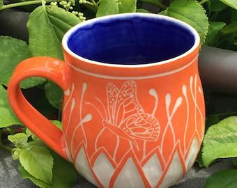 Butterfly Blossom Mug