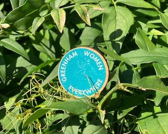 Greenham Women Everywhere Logo Badge
