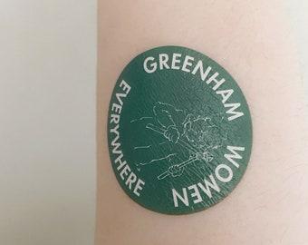 Greenham Women Everywhere Temporary Tattoos