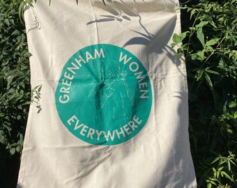 Greenham Women Everywhere Logo Tea Towel