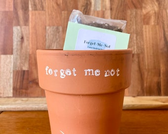 Forget-Me-Not Homegrown Flower Kit