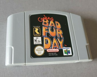 Conker's Bad Fur DAy Nintendo 64 N64 PAL / EUR * Free Shipping - Free Shipping *