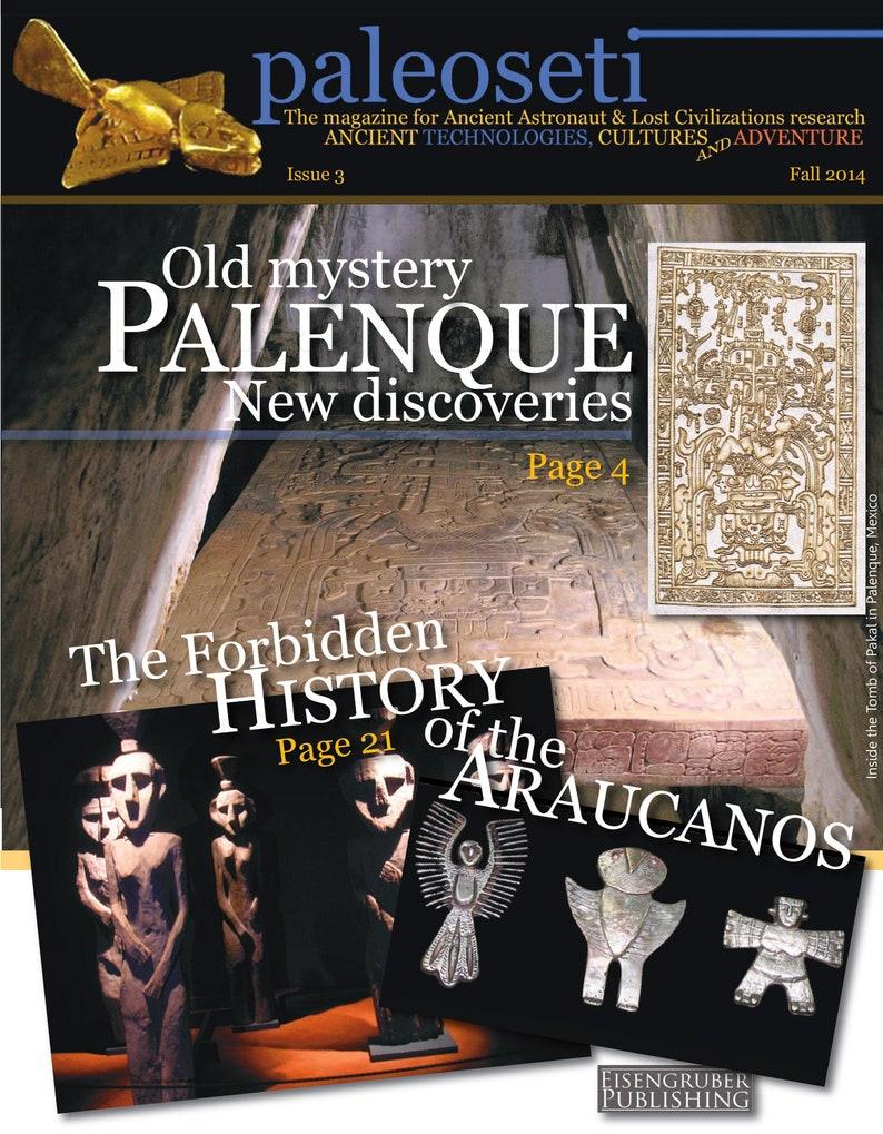 PaleoSeti Digital Magazine Issue 3  Ancient Aliens and Lost image 0