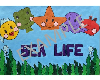 Personalised Childrens Canvas Art