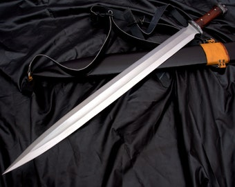 21 inches Blade historical Viking sword-Hand forged Viking sword-Replica sword-Battle Ready sword-forged-leaf spring-Tempered-Sharpen-Nepal