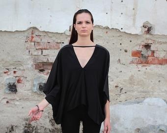 Reversible silk top 4-in-1 | Zero-waste design