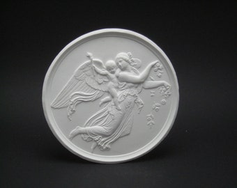 "Plaster relief ""The Day"", copy after Berthel Thorwaldsen (1770-1844)"