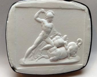 P245, Theseus, Intaglio, cameo, plaster cast, impression from the Poniatowski collection
