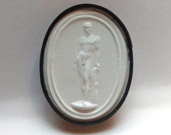 P249, Palamedes, cameo, plaster cast, Intaglio, impression from the Intaglio collection of James Tassie (1735-1799)