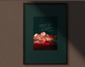 A Letter to Apollo - Signed art print